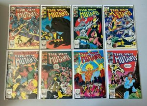 New Mutants lot from:#2-49 1st Series 37 different books 6.0 FN (1983-1987)