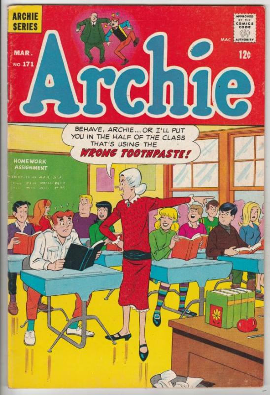 Archie #171 (Mar-67) FN/VF Mid-High-Grade Archie