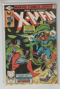 UNCANNY X-MEN ANNUAL (1970 MARVEL) #4 FN+ A99954