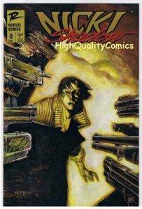 NICKI SHADOW #0, VF+,  Preview, Ashcan, Naifeh, Burnham,1997