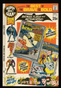 Super DC Giant #16 VF/NM 9.0 S-16 Brave and the Bold Batman Flash!