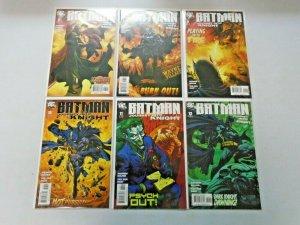 Batman Journey Into Knight Set #1-12 8.5 VF+ (2005)