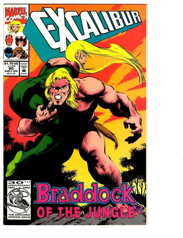 6 Excalibur Marvel Comics 58 59 60 61 62 63 X Men Phoenix Captain