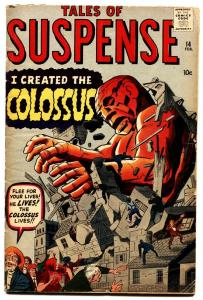 Tales of Suspense #14 1961-MARVEL-First Colossus. Jack Kirby Pre-Hero