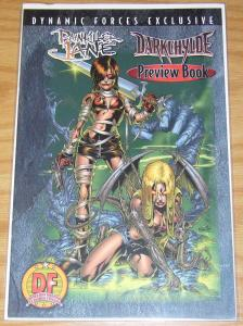Painkiller Jane/Darkchylde Preview #1 VF/NM dynamic forces with COA (1582/7500)