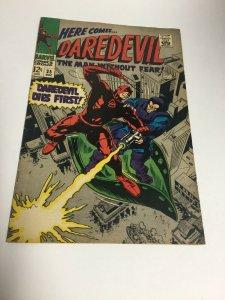 Daredevil 35 Fn Fine 6.0 Marvel Comics Silver Age