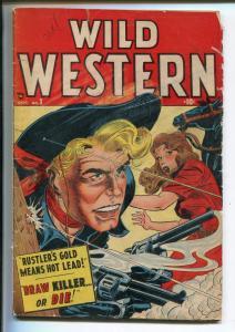WILD WESTERN #3 1948-TIMELY-TWO-GUN KID-TEX MORGAN-ARIZONA ANNIE-good