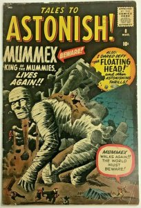 TALES TO ASTONISH#8 VG 1960 MARVEL SILVER AGE COMICS