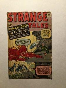 Strange Tales 105 Very Good Vg 4.0 Tape On Spine Marvel