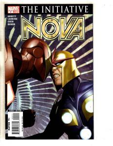 Lot Of 6 Nova Marvel Comic Books # 2 3 4 5 6 7 Avengers Thanos Guardians JC1