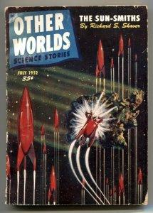 Other Worlds Digest Pulp July 1952- Sun-Smiths