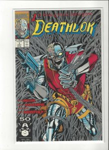 Deathlok Comics Lot  #1-up (Aug 1990, Marvel Comics) 18 Issues All Unread NM