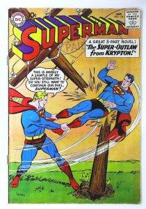 Superman (1939 series) #134, Fine- (Actual scan)