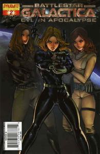 Battlestar Galactica: Cylon Apocalypse #2B VF; Dynamite | save on shipping - det