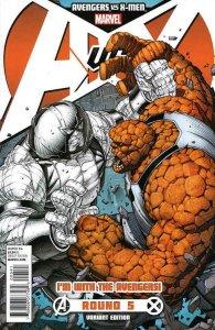 Avengers vs. X-Men #5C VF/NM; Marvel | save on shipping - details inside