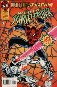 Web of Scarlet Spider #4, NM (Stock photo)