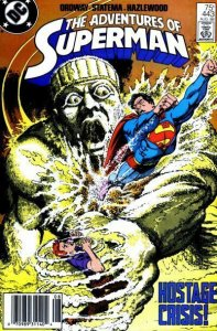 Adventures of Superman #443 (Newsstand) FN; DC   save on shipping - details insi