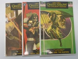 Green Arrow Set:#1-3, 8.0/VF (1987)