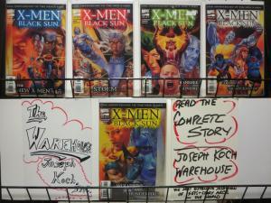 X MEN BLACK SUN (2000) 1-5  25th Anniversary story!