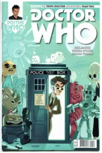 DOCTOR WHO #12 C, NM, 10th, Tardis, 2015, Titan, 1st, more DW in store, Sci-fi