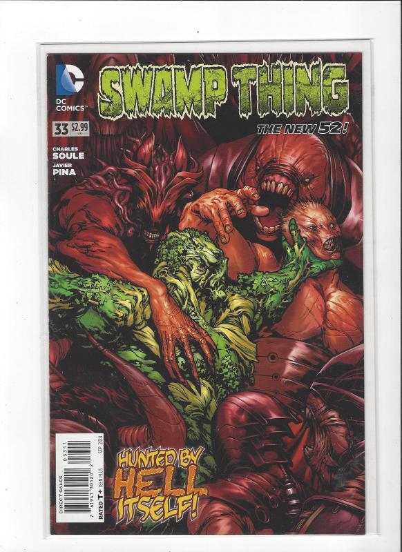 Swampthing #33 DC Comics New 52  NM/M