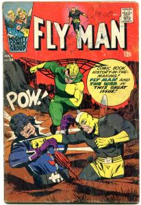 Fly Man #38 1966- The Web- Silver Age comic VG-