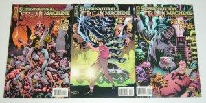 Supernatural Freak Machine #1-3 VF/NM complete series - steve niles kelley jones