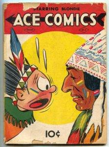 Ace Comics #41 1940- Phantom- Jungle Jim G-