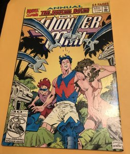 WONDER MAN Annual #1 : Marvel 1992 Fn; The System Bytes