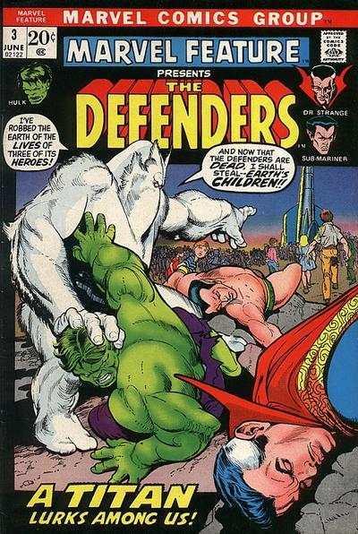 Marvel Feature (1971 series) #3, Fine- (Stock photo)