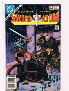 VF Sword of the Atom Special #2 1985 DC Newsstand Comic Book