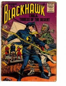 BLACKHAWK 95 FAIR December 1955 loose cover