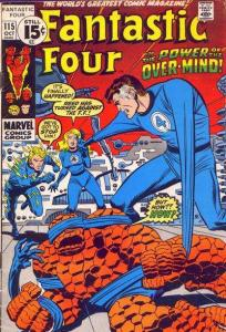 Fantastic Four (1961 series) #115, VF- (Stock photo)