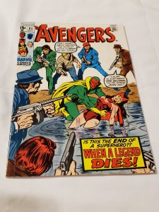 Avengers 81 VG/FN Cover by John Buscema