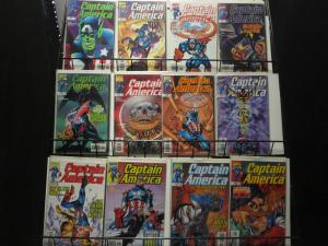 Captain America (1998 Vol. 3) 20 diff comics Waid Kubert Falcon Red Skull Marvel
