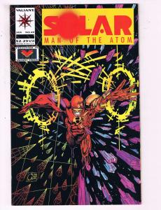 Solar Man Of The Atom #29 VF Valiant Comics Comic Book 1991 DE18