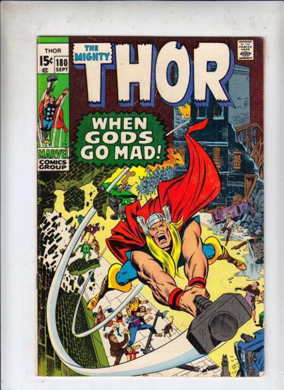 Thor 180 Mighty Thor 180 strict VF 8.0 High-Grade  Neal Adams  more@Kermitspad!