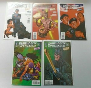 The Authority lot 2 sets 9 different issues 8.0 VF (2004-05)