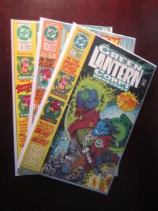 Green Lantern Corps Quarterly (1992) #1-3 Runs - 8.0 VF - 1992