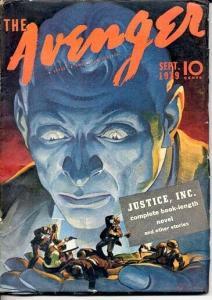 AVENGER, THE-9/1939-HIGH GRADE! FN