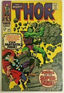 THOR#142  FN 1967 MARVEL SILVER AGE COMICS