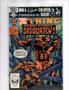 Marvel Comics (1974) Marvel Two-In-One #83 Thing, Sasquatch; Shaman; Giant-Man
