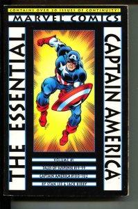 Essential Captain America-Vol. 1-Paperback-VG/FN