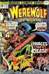 Werewolf By Night (1972 series) #36, Fine+ (Stock photo)