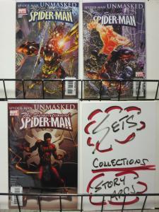 SENSATIONAL SPIDERMAN (2006) 29-31  Deadly Foes... COMICS BOOK