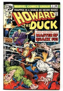 HOWARD THE DUCK #3 1976-MARVEL-FRANK BRUNNER-comic book