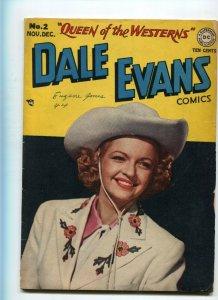 Dale Evans Comics 2 VG-