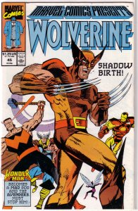 Marvel Comics Presents   vol. 1   # 45 VG Wolverine