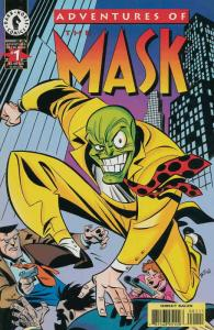 Adventures of the Mask #1 VF; Dark Horse | save on shipping - details inside