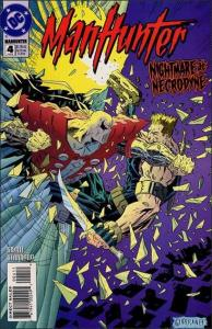DC MANHUNTER (1994 Series) #4 NM